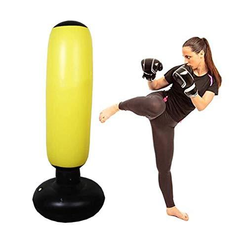 1,6 M Opblaasbare Zandzak, Fitnessboksen Kolom, Boxing Bokszak, Geschikt Voor Kinderen, Volwassenen Fitness Training En Stress