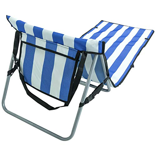 Andes Portable Folding Beach/Outdoor Camping Lounger Mat Chair