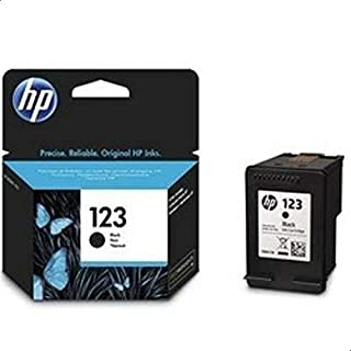 HP 123 Black Ink Cartridge 120 Pages