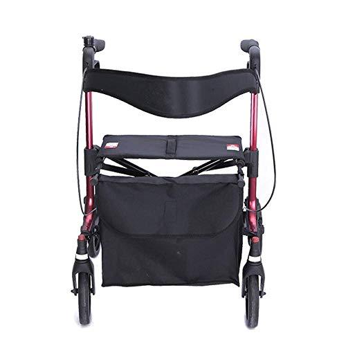 shopping cart Einkaufswagen für Senioren, Alter Wagen, Lebensmittelgeschäft, vierrädrige Gehhilfe, Rollstuhl, Schritt für Schritt