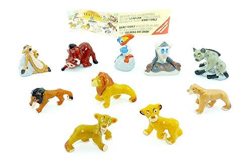 Der König der Löwen Figurensatz, 10 schöne Figuren von Nestle