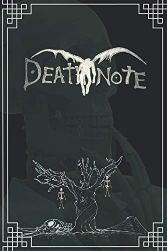 Amazing Death Note Notebook for Kids: Best Death Note Notebook Journal for School as a Diary With 120 Lined Pages 6x9 Inches for Death Note Lovers