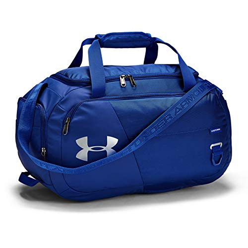 Under Armour Unisex Undeniable Duffle 4.0 Gym Bag, Royal (400)/Silver,...