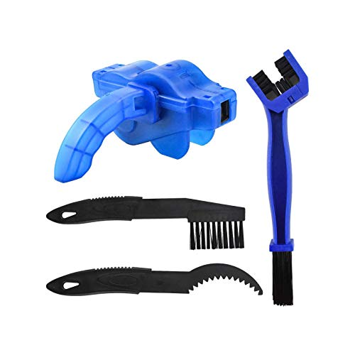 TOCYORIC Kit de Limpieza para Cadena de Bicicleta limpiador de cadena de bicicleta profesional accesorios de limpieza profunda para Todo Tipo de Bicicletas Cadena Kit de cadenas de Reparación