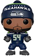 From the NFL, Bobby wagner (Seahawks home), as a stylized pop vinyl from Funko! Stylized collectable stands 3 ¾ inches tall, perfect for any NFL fan! Collect and display all NFL pop! Vinyls!