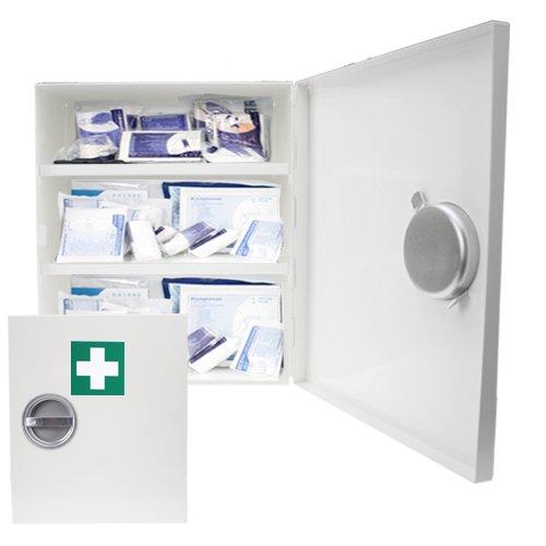 Verbandsschrank - Erste Hilfe Schrank - Kasten DIN 13157 inkl. Füllung