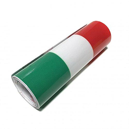 Zesfor Pegatina Bandera Italia (1 Metro)