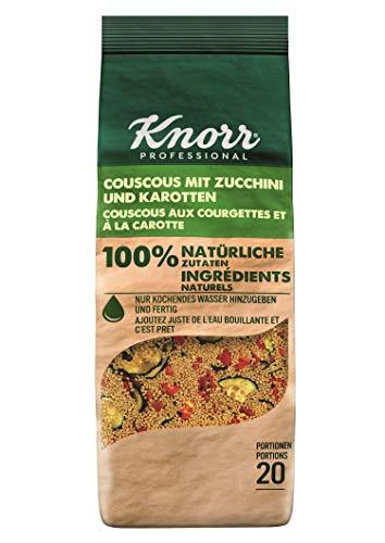 Knorr Couscous mit Zucchini und Karotten 100 Prozent natürliche Zutaten, 1er Pack (1 x 610g)