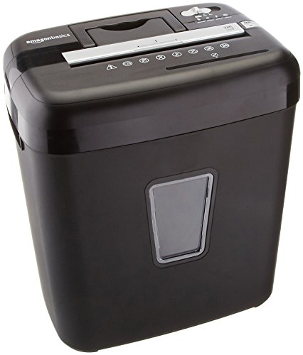 Amazon Basics 12-Sheet Cross-Cut Paper, CD and Credit Card Shredder Photo #1