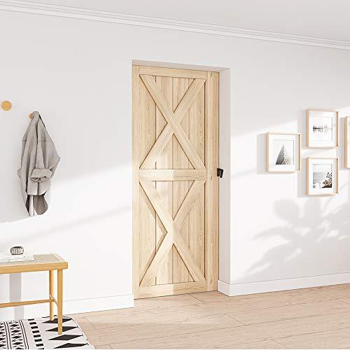 Product Image 9: WINSOON Barn Door Lock Hardware Black Steel Sliding Privacy Latch for Closet Shed Pocket Doors Wood Gates – Black