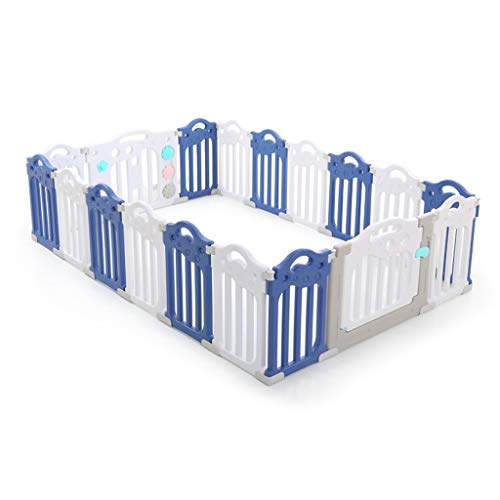 New Baby Safety Fence Banister Kids Activity Safety Play Centre Yard Home Indoor Outdoor Toddler Cra...