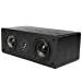 Micca MB42-C Center Channel Speaker with Dual 4-Inch Carbon Fiber Woofer and Silk Dome Tweeter (Black, Each) (Renewed)