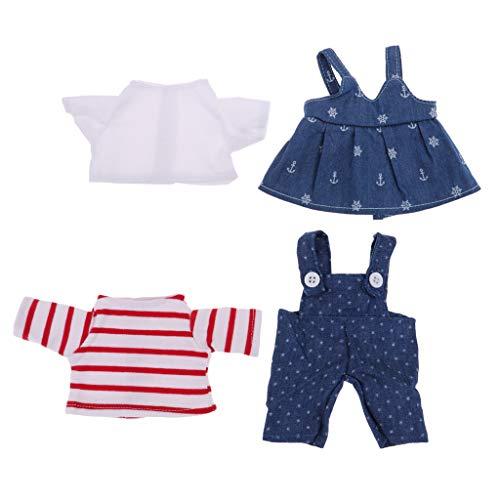 Conjunto de roupas de verão com saia de suspensório adorável da Tongina