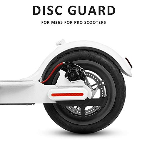 QUUY Protector de Disco de Scooter para M365, Protector de Freno de...