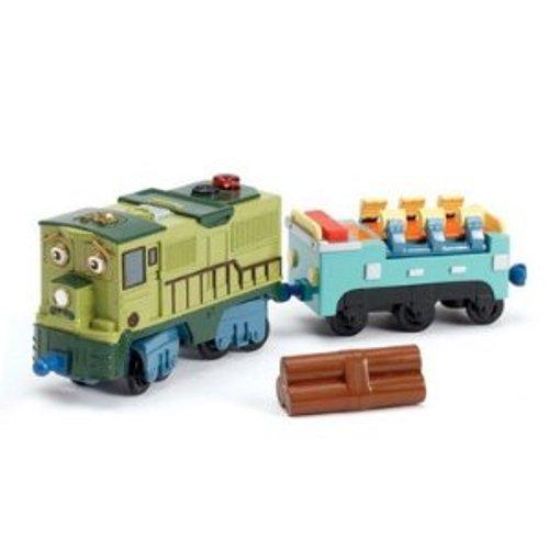 Chuggington Interactive Railway - Locomotive Dunbar et Wagon Plat (Langue varie selon Vendeur)