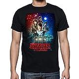 Camiseta de Hombre Stranger Things Once Series Retro 80 Eleven Will 001 S