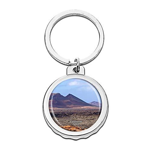 Hqiyaols Keychain España Volcanic Island Park Lanzarote...