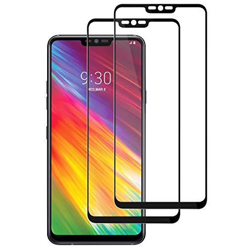 SEEZEN LG G7 ThinQ Panzerglas Schutzfolie, [Full Screen] [9H Härte] [Ultra-klar] [Anti-Kratzen] Bildschirmschutzfolie für LG G7 ThinQ【2 Stück】