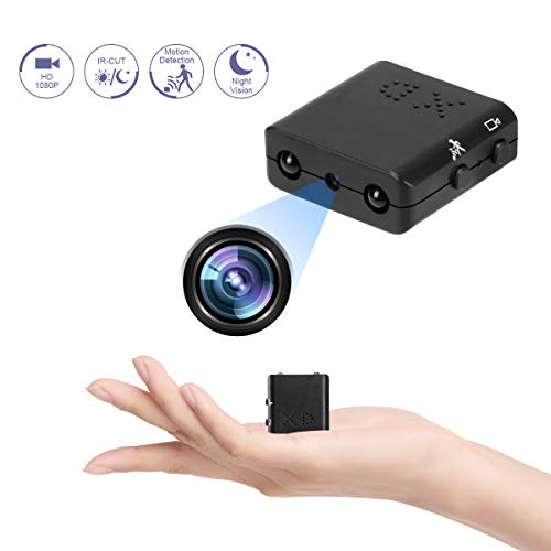 Video Spy Camera, Mini Hidden HD Wireless 4K Cam, Infrared Night Vision Mini Camera Motion Detection DV DVR Security Camera