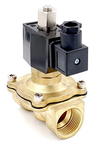 Woljay Válvula solenoide eléctrica V 1/2 pulgada AC 380V agua aire gas...