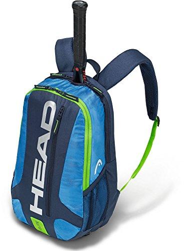 HEAD Elite Rucksack/Tennisschlägertasche, Unisex, 283468BLGE, blau/grün, Einheitsgröße
