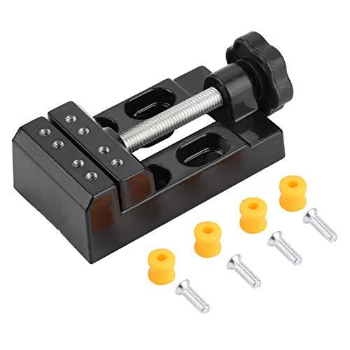 Mini tornillo de banco de mesa de taladro Modelo conveniente Trabajo de hobby para reparaciones Taller de carpintería para el garaje