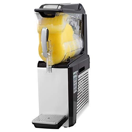 VEVOR 220V Macchina per Granite 1 * 10L Granitore Elettrico 500W Frozen Drink Gelatiera per Supermercati Caffè Ristoranti Snack Bar Uso commerciale