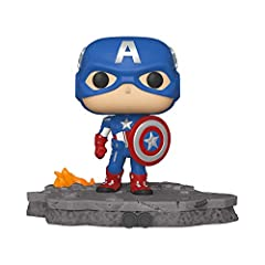 The Marvel Avengers Assemble series is a brand-new Initiative from Funko. The Funko Pop! Deluxe Avengers Assemble series will feature 6 brand new unique figures, ending with Steve Rogers himself, Captain America. This series will capture the iconic m...
