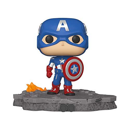 Funko Pop! Deluxe - Marvel: Avengers Assemble Series - Capitán América Figura 6 #589