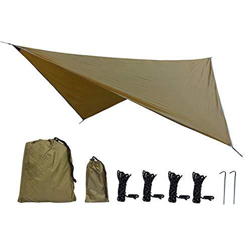 Tienda de campaña para playa, 360 x 290 mm, impermeable, lona de protección solar, protección contra rayos UV, tienda de playa, tienda de campaña, hamaca para lluvia, camping, toldo ligero