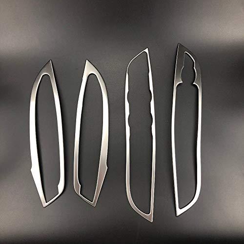 4 unids / set Coche de acero innovador de acero innoves de la puerta de la puerta de la puerta de la cubierta de la cubierta de la cubierta de la cubierta de la etiqueta engomada para f o rd Focus 3 4