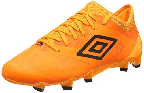UMBRO Herren Velocita Iii Pro Hg Fußballschuhe, Orange (Elz Orange Pop/Black), 40.5 EU