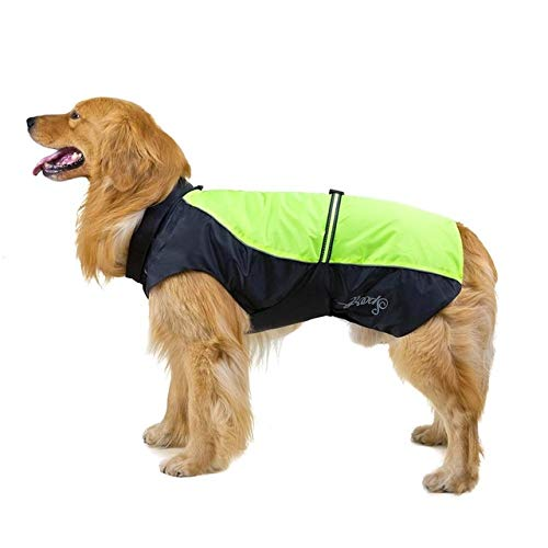 MYYXGS - Chubasquero impermeable para perros grandes, transpirable, para gatos