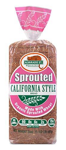 Alvarado Street Bakery Organic California Style Complete Protein Bread, 24 Ounce, 3 pk
