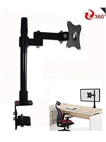 "Yosoo Single LCD Monitor Desk,13-27"" Inch Desk Monitor LED LCD TV Desktop Mount Bracket Single Arm Stands"