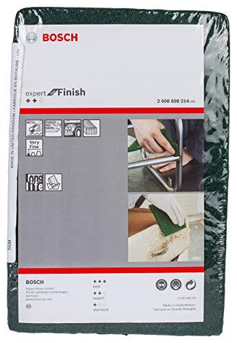 Preisvergleich Produktbild Bosch Professional Schleifvlies Expert for Finish (Feinheitsgrad: sehr fein,  152 x 229 mm,  Zubehör Handschleifen)
