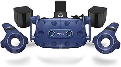 HTC VIVE Pro Eye (2019) - Precision Eye Tracking Virtual Reality (VR) Headset Bundle - UK/EU Version