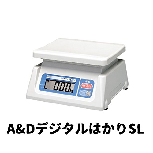 デジタルハカリ A&DデジタルはかりSL 20Kg SL-20K 業務用ハカリ