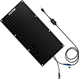 VEVOR Snow Melting Mat, 20in x 5ft Heated Walkway Mat, 120V Snow and Ice Melting Mat, PVC Heated Mat with 6ft Power Cord, Slip-Proof, Ideal Winter Outdoor Snow Mat, 2'' per Hour Melting Speed