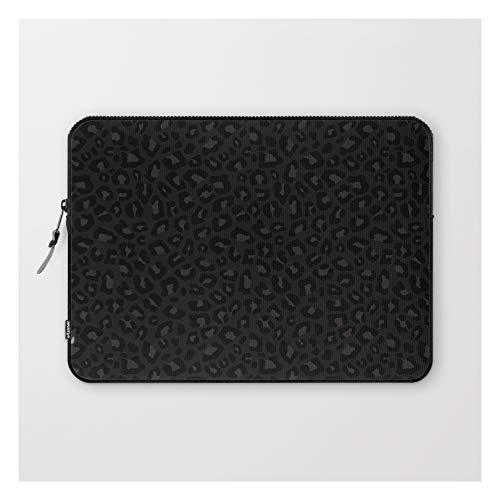 Leopard Print 2.0 - Black Panther by Silverpegasus on Laptop Sleeve - Laptop Sleeve - 13'