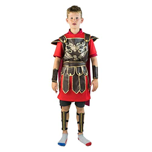 Bodysocks Kids Romeinse Gladiator Kostuum (Leeftijd 5-7)