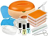 Premium SPA Pflege SET XL - PARAFFINBAD für Hände und Füße + reichhaltiges NagelPflege Zubehör