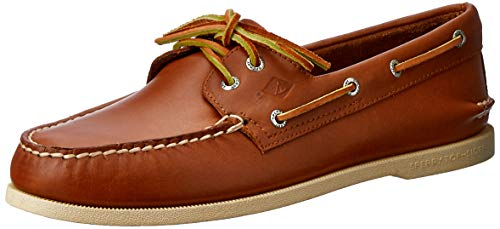 Sperry Men's A/O 2 Eye Boat Shoe,Tan,11 M US