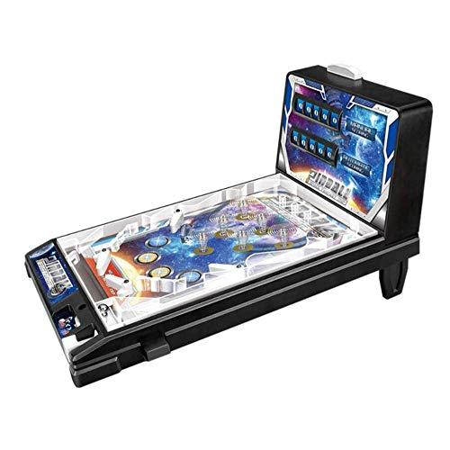 ZHXY Space Pinball,Mini Juguete de Pinball,Los niños juegan al Super Pinball electrónico,Máquina de Pinball de Rompecabezas para Padres e Hijos - Retro Arcade