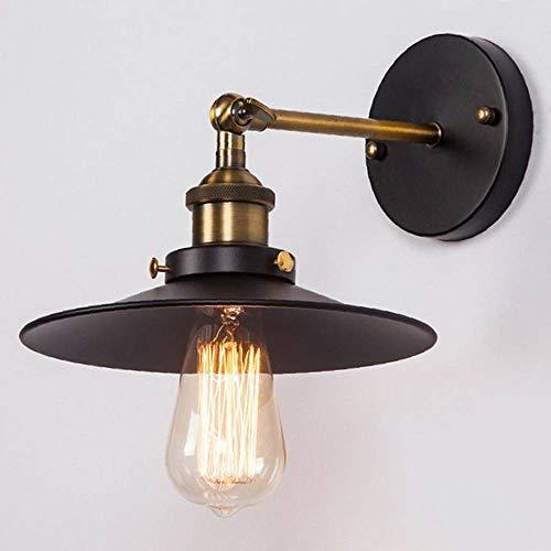 Lightsjoy Retro Wandleuchte industrielampe Regenschirm Industrie Verstellbar Metall E27 Hängeleuchte Lampefassung loft für Wohnzimmer Schlafzimmer Esszimmer Esstisch Küche Bar Flur usw.