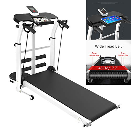 Professional Treadmills 3 in 1 Under Desk Portable Folding Treadmill Walking Pad Desk Treadmill Auto Incline Running Machine Exercise Fitness Machine for Home/Office Use with Device Holder&LCD Displ