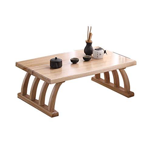 HGXC bay Window Table Tatami Tavolo da tè Giapponese bay Window Piccolo e Semplice Tavolino Tatami Balcone Tavolino Basso
