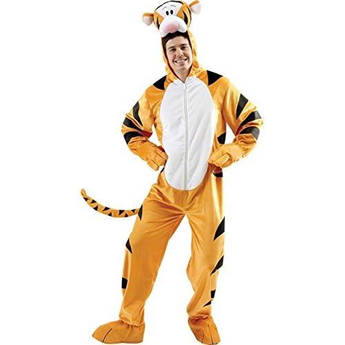 Rubieu0027s Official Adultu0027s Disney Tigger Costume ...