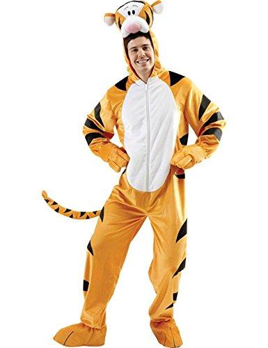 Rubie's Offizielles Disney Tigger Kostüm für Erwachsene, Größe XL