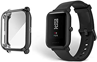 MGRJ Case for Amazfit BIPBIP Lite Soft TPU Cover for Amazfi